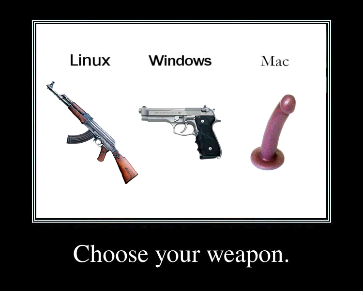 mac vs. linux vs. windows